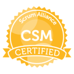 Certified ScrumMaster Scrum Alliance seal